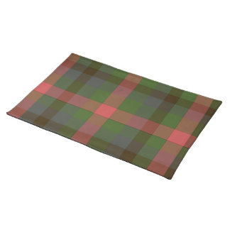 Country Summers Plaid Placemat