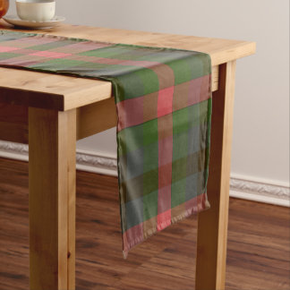 Country Summers Plaid Table Runner