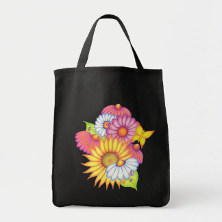 Country Sunflowers Large Tote Bag
