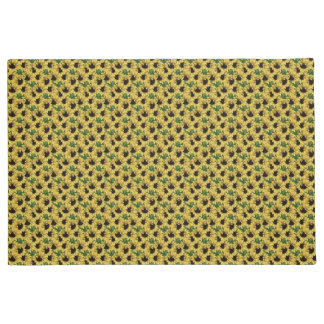 Country Sunflowers Patterned Door Mat