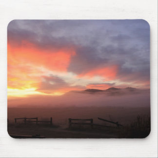 Country Sunrise Mouse Pad