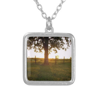 Country Sunset Personalized Necklace