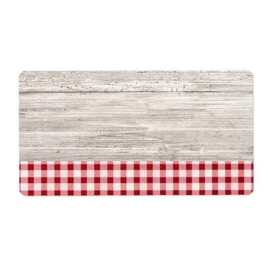 Country Table Product Label