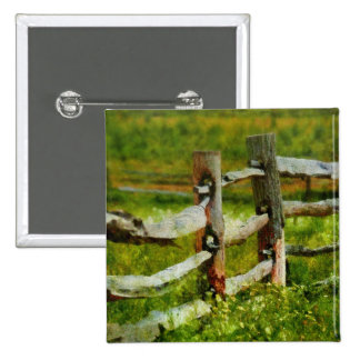 Country - The old fence post Buttons