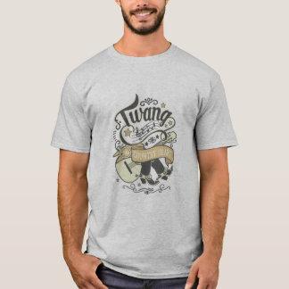 Country Twang Gold/Grey ID464 T-Shirt