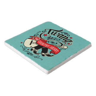 Country Twang Red/Black ID464 Trivet