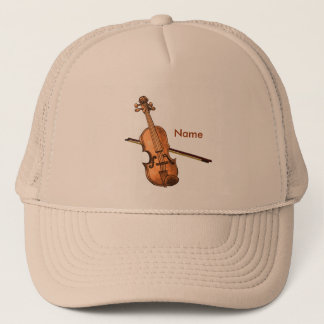Country Violin custom name hat