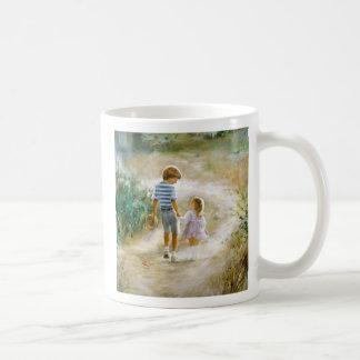 Country Walk Classic White Coffee Mug