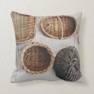Country Wicker Modern Rustic Scatter Cushion