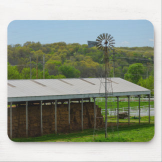 Country Windmill Mouse Pad
