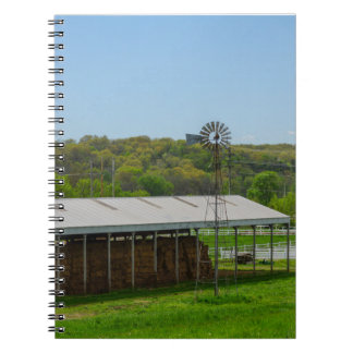 Country Windmill Notebook