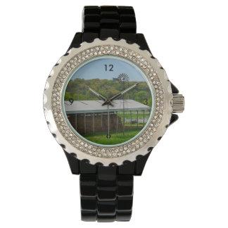 Country Windmill Wrist Watch