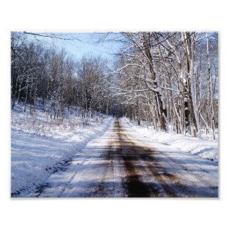 Country Winter Photographic Print