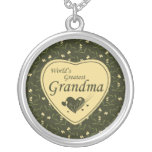 Country world's greatest grandma necklace