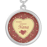 Country world's greatest nana red necklace