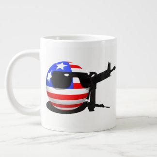 Countryball, USABall Large Coffee Mug