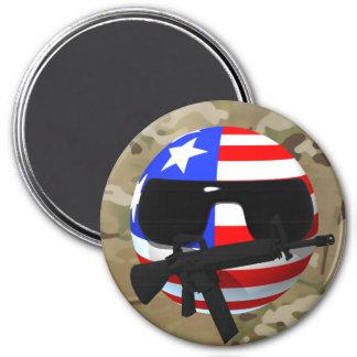 Countryball, USAball Multi-cam Magnet