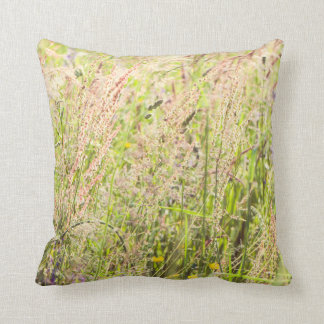 Countryside flowers cushion