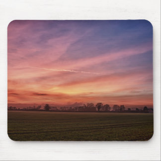 Countryside Sunset Skies mousemat