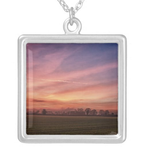 Countryside Sunset Skies Necklace