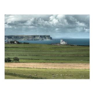 County Antrim's Coastal Causeway, Northern Ireland Postcard