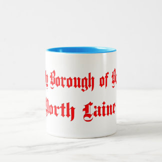 County Borough of Brighton North Laine Two-Tone Coffee Mug