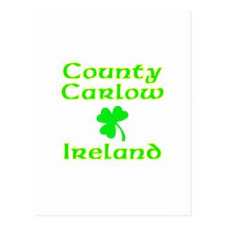 County Carlow Ireland Postcards