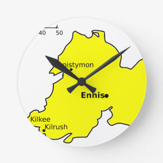 County Clare Round Clock