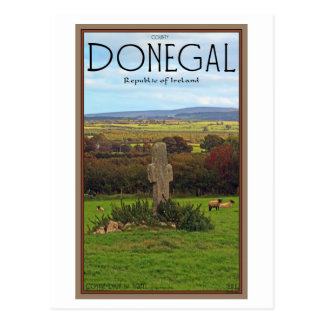 County Donegal - Stone Cross Post Card