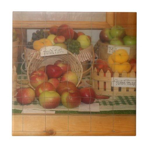 County Fair Fruit Harvest Display Tiles