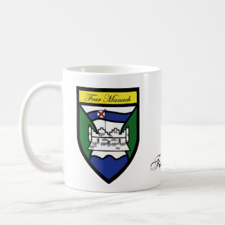 County Fermanagh Map & Crest Mugs