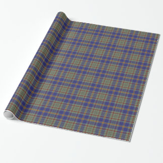 County Kildare Irish Tartan Wrapping Paper