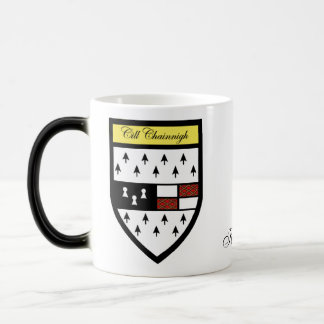 County Kilkenny Map & Crest Mugs