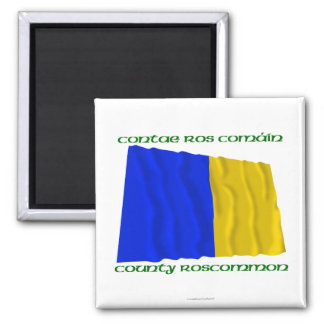 County Roscommon Colours Magnet