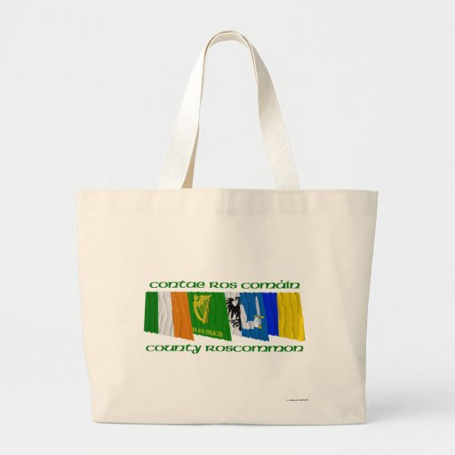 County Roscommon Flags Bags