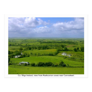 County Sligo Ireland, Carrowkeel Post Card