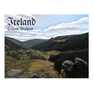 County Wicklow, Ireland Postcard
