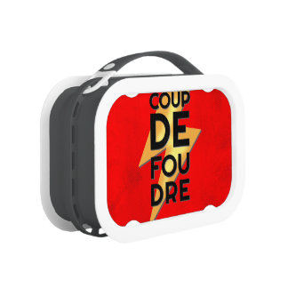 Coup de Foudre - Lightning Strike French Lunchboxes