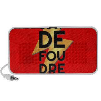 Coup de Foudre - Lightning Strike French iPhone Speaker