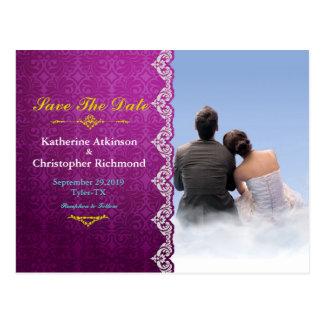 couple boy girl love clouds postcard