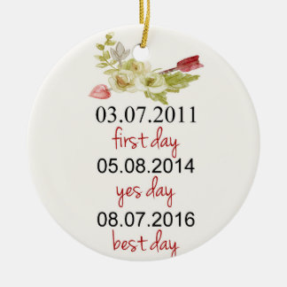 Couple Christmas Ornament, personalized ornament