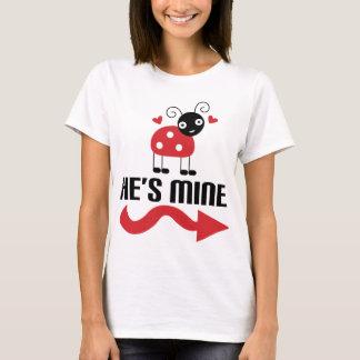 Couple Cute Ladybug Her T-Shirt