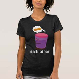 Couple Cute Made For Each Other T-shirt