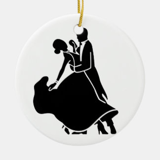 COUPLE DANCING ON *1st CHRISTMAS TOGETHER ORNAMENT