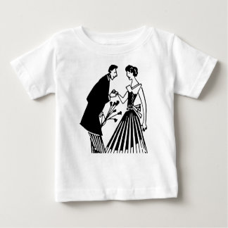 Couple Drawing Baby T-Shirt