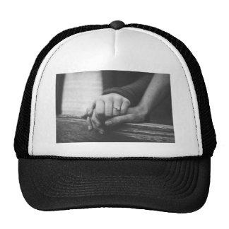 Couple hands cap