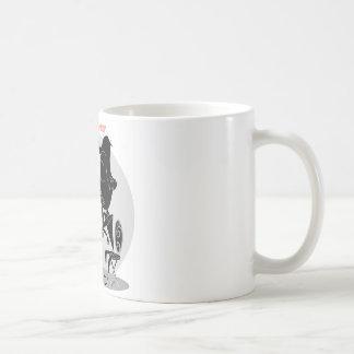 Couple kissing sharing milkshake forever love coffee mug