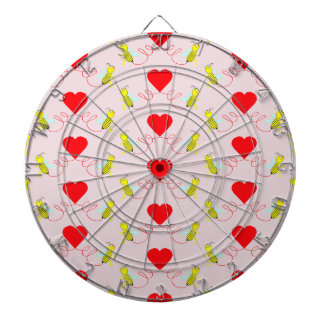 couple of bees dartboard