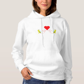 couple of bees hoodie