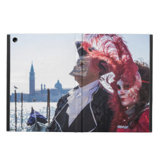 Couple of carnival masks case for iPad air